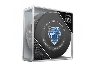 Puk 2020 NHL Stadium Series Official Game Puck Los Angeles Kings vs Colorado Avalanche