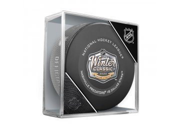 Puk 2020 NHL Winter Classic Official Game Puck Dallas Stars vs. Nashville Predators