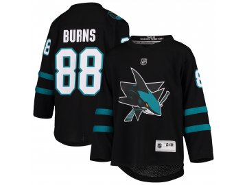 Dětský dres San Jose Sharks # 88 Brent Burns Breakaway Alternate Replica