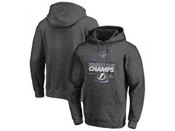 Pánská mikina Tampa Bay Lightning 2020 Stanley Cup Champions Locker Room Laser Shot