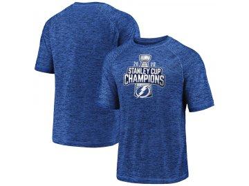 Pánské tričko Tampa Bay Lightning 2020 Stanley Cup Champions Open Net Performance Synthetic