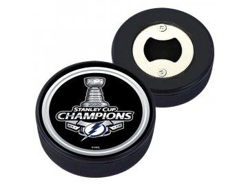 Otvírák Tampa Bay Lightning 2020 Stanley Cup Champions Puck Bottle Openernufacturer Direct Item