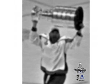 Fotografie Tampa Bay Lightning 2020 Stanley Cup Champions Curtis McElhinney 8 x 10