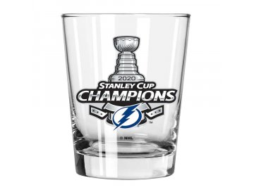 Sklenička Tampa Bay Lightning 2020 Stanley Cup Champions 15oz. Double Old-Fashioned Glass