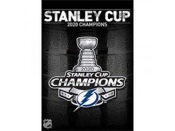 DVD Tampa Bay Lightning 2020 Stanley Cup Champions USA region