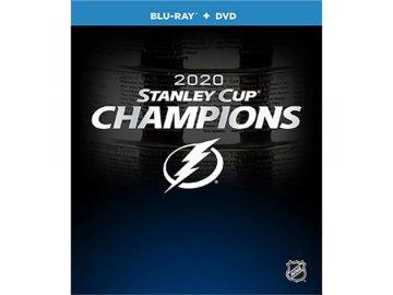 DVD/Blu-Ray Tampa Bay Lightning 2020 Stanley Cup Champions DVD/Blu-Ray Combo Set USA region