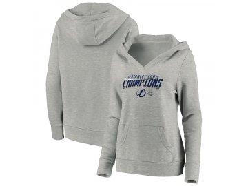 Dámská mikina Tampa Bay Lightning 2020 Stanley Cup Champions Top Line Pullover