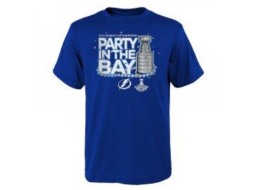 Dětské tričko Tampa Bay Lightning 2020 Stanley Cup Champions Parade Celebration Last Stop