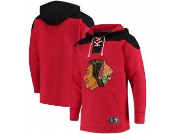 Mikina Chicago Blackhawks NHL Red Franchise