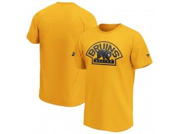 Tričko Boston Bruins Iconic Secondary Colour Logo Graphic