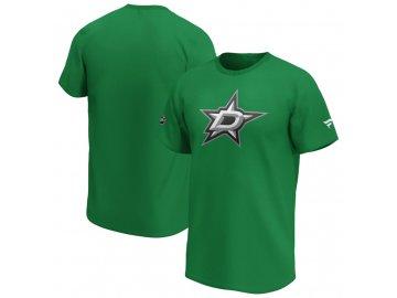Tričko Dallas Stars Iconic Primary Colour Logo Graphic