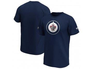 Tričko Winnipeg Jets Iconic Primary Colour Logo Graphic