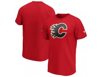 Tričko Calgary Flames Iconic Primary Colour Logo Graphic