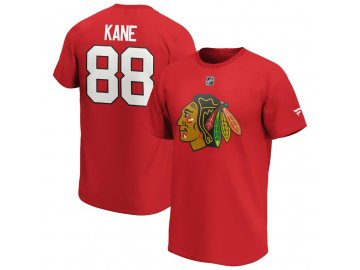Tričko Patrick Kane Chicago Blackhawks Iconic Name & Number Graphic