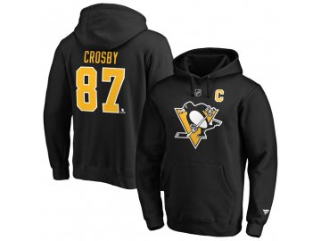 Mikina Sidney Crosby Pittsburgh Penguins Iconic Name & Number Graphic