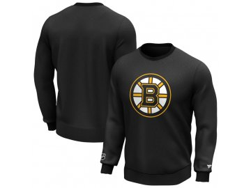 Mikina Boston Bruins Iconic Primary Colour Logo Graphic Crew