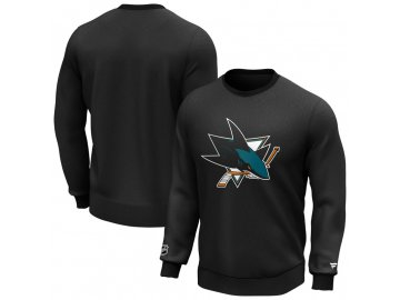 Mikina San Jose Sharks Iconic Primary Colour Logo Graphic Crew