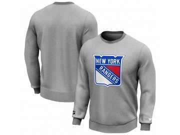 Mikina New York Rangers Iconic Primary Colour Logo Graphic Crew