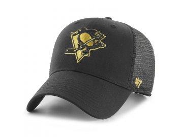 Kšiltovka Pittsburgh Penguins Branson Metallic '47 MVP