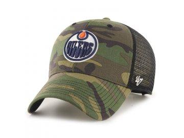 Kšiltovka Edmonton Oilers Camo Branson '47 MVP