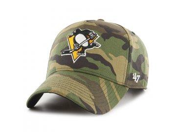 Kšiltovka Pittsburgh Penguins Grove Snapback '47 MVP DT