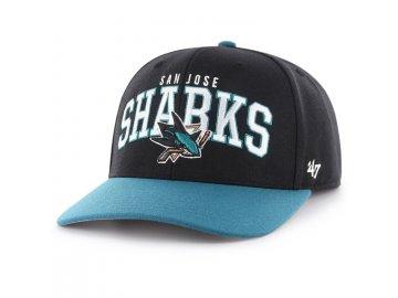 Kšiltovka San Jose Sharks McCaw '47 MVP DP