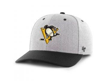 Kšiltovka Pittsburgh Penguins Storm Cloud TT '47 MVP DP
