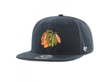Kšiltovka Chicago Blackhawks Upland '47 CAPTAIN