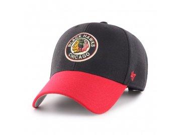 Kšiltovka Chicago Blackhawks '47 MVP Vintage
