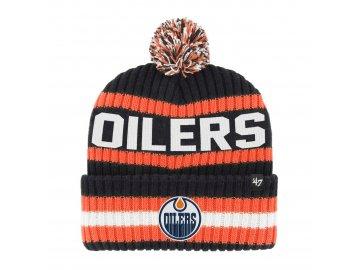 Zimní čepice Edmonton Oilers Bering '47 CUFF KNIT