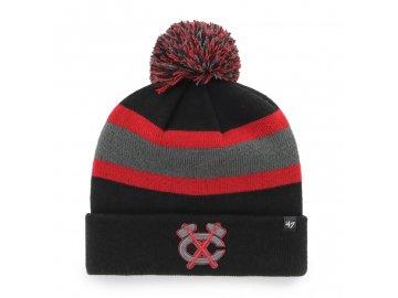 Zimní čepice Chicago Blackhawks Breakaway '47 CUFF KNIT