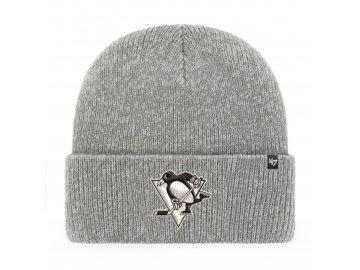 Zimní čepice Pittsburgh Penguins Brain Freeze '47 CUFF KNIT