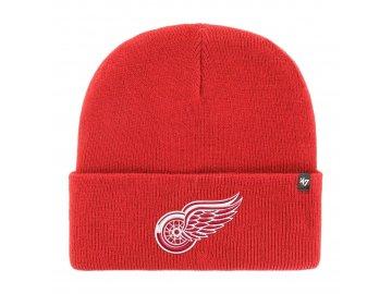 Zimní čepice Detroit Red Wings Haymaker '47 CUFF KNIT