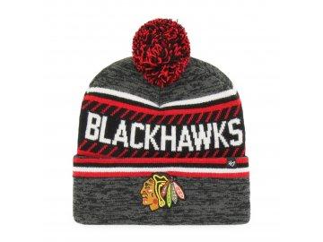Zimní čepice Chicago Blackhawks Ice Cap '47 CUFF KNIT