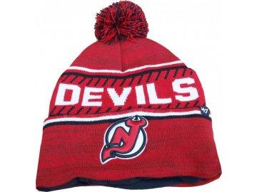 Zimní čepice New Jersey Devils Ice Cap '47 CUFF KNIT