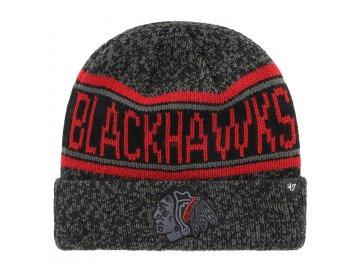 Zimní čepice Chicago Blackhawks McKoy '47 CUFF KNIT