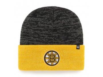 Zimní čepice Boston Bruins Two Tone Brain Freeze '47 CUFF KNIT