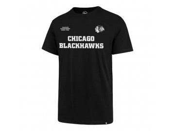 Tričko Chicago Blackhawks Front 2 Back '47 SPLITTER Tee