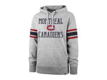 Mikina Montreal Canadiens Double Block '47 Sleeve Stripe Hood