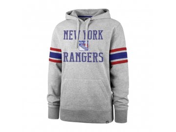 Mikina New York Rangers Double Block '47 Sleeve Stripe Hood