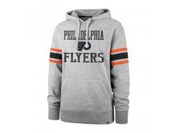 Mikina Philadelphia Flyers Double Block '47 Sleeve Stripe Hood