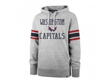 Mikina Washington Capitals Double Block '47 Sleeve Stripe Hood
