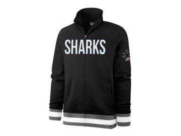 Mikina San Jose Sharks Full Blast '47 Legendary Track Jacket