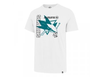 Tričko San Jose Sharks Levels '47 SPLITTER Tee