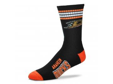 504 Anahiem Ducks 4 Stripe Deuce (black orange)
