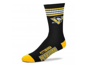 504 Pittsburgh Penguins 4 Stripe Deuce (black gold)