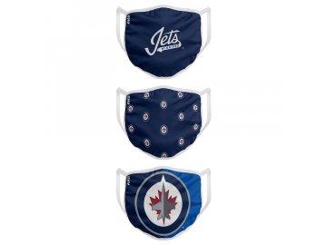 Roušky Winnipeg Jets FOCO - set 3 kusy (Velikost dětská velikost)