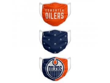 Roušky Edmonton Oilers FOCO - set 3 kusy (Velikost dospělá velikost)