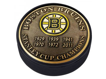Puk Boston Bruins Stanley Cup Champions Medallion Collection