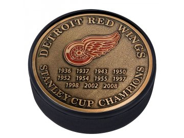 Puk Detroit Red Wings Stanley Cup Champions Medallion Collection